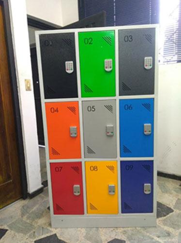INGENCAS - Lockers metalico con cerradura electrónica 1